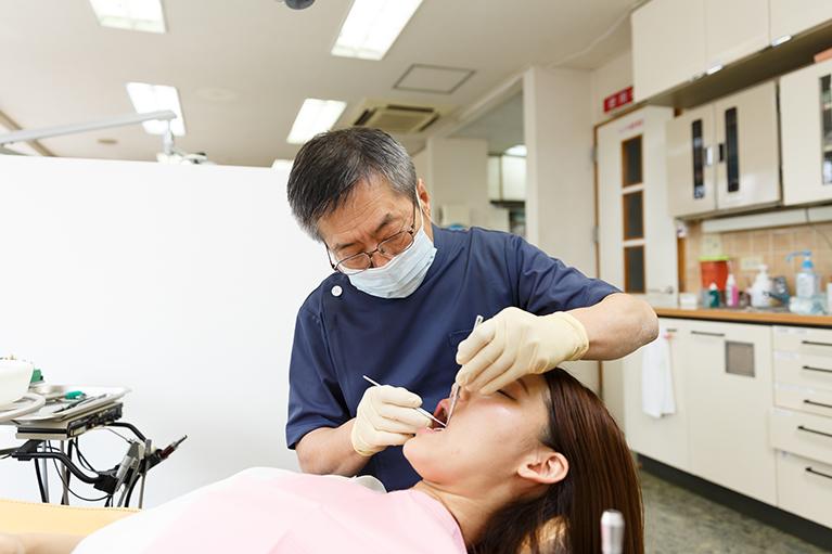 むし歯の治療や予防・メンテナンス